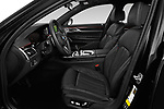Front seat view of a 2020 BMW 7 Series M Sport 4 Door Sedan front seat car photos