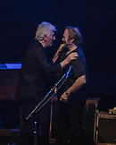 Stephen Stills and Graham Nash of Crosby, Stills & Nash at the Olympia in Paris, France.