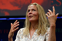 Pictured: Asne Seierstad.<br /> Re: Hay Festival at Hay on Wye, Powys, Wales, UK. Saturday 02 June 2018