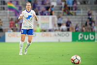 Orlando, FL - Saturday June 03, 2017: Natasha Dowie during a regular season National Women's Soccer League (NWSL) match between the Orlando Pride and the Boston Breakers at Orlando City Stadium.