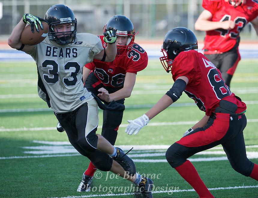 Langley Mustangs vs North Langley Bears Bantam  Golden Helmet Tournament