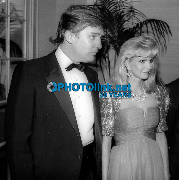 Donald Trump Ivana Trump<br /> Photo By John Barrett/PHOTOlink