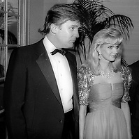 Donald Trump Ivana Trump<br /> Photo By John Barrett/PHOTOlink