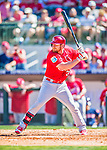 4 March 2016: St. Louis Cardinals outfielder Brandon Moss in action during a Spring Training pre-season game against the Houston Astros at Osceola County Stadium in Kissimmee, Florida. The Cardinals fell to the Astros 6-3 in Grapefruit League play. Mandatory Credit: Ed Wolfstein Photo *** RAW (NEF) Image File Available ***