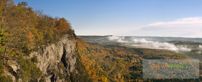 Delaware Valley, Kittatiny Mountain, Appalachin Trail, New Jersey
