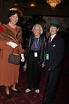 Judy Gold with her partner &amp; Liz Smith<br /> arrives at the 15th Annual Hulaween Benefit Gala at the  Waldorf-Astoria Hotel in New York City.