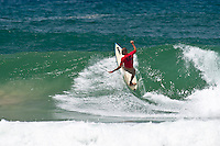Burleigh Heads Sunday January 11 2009. The 12th annual Honolua Burleigh Boardriders Single Fin Classic  contest wrapped up today at Burleigh Heads, Queensland, Australia. PAUL WARD (AUS)  was the over all winner with former pro surfers like LUKE EGAN (AUS) and MARK OCCHILUPO (AUS) Photo: joliphotos.com