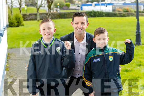 Jack and Liam O'Brien meet their Hero Aidan O'Mahony winner of dancing with the stars on Wednesday.