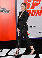 Willow Shields at the world premiere for &quot;The Spy Who Dumped Me&quot; at the Fox Village Theatre, Los Angeles, USA 25 July 2018<br /> Picture: Paul Smith/Featureflash/SilverHub 0208 004 5359 sales@silverhubmedia.com