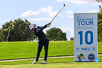 Francesco Laporta (ITA) on the 10th tee during the Pro-Am of the Challenge Tour Grand Final 2019 at Club de Golf Alcanada, Port d'Alcúdia, Mallorca, Spain on Wednesday 6th November 2019.<br /> Picture:  Thos Caffrey / Golffile<br /> <br /> All photo usage must carry mandatory copyright credit (© Golffile | Thos Caffrey)