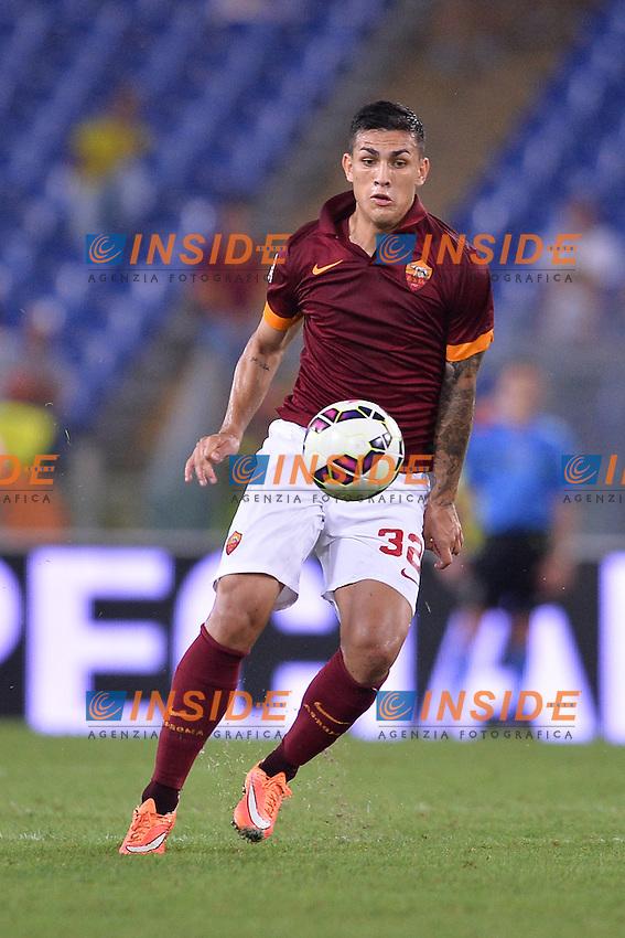 Leandro Paredes Roma.<br /> Roma 18-10-2014 Stadio Olimpico. Football Calcio 2014/2015 Serie A. AS Roma - Chievo. Foto Antonietta Baldassarre / Insidefoto