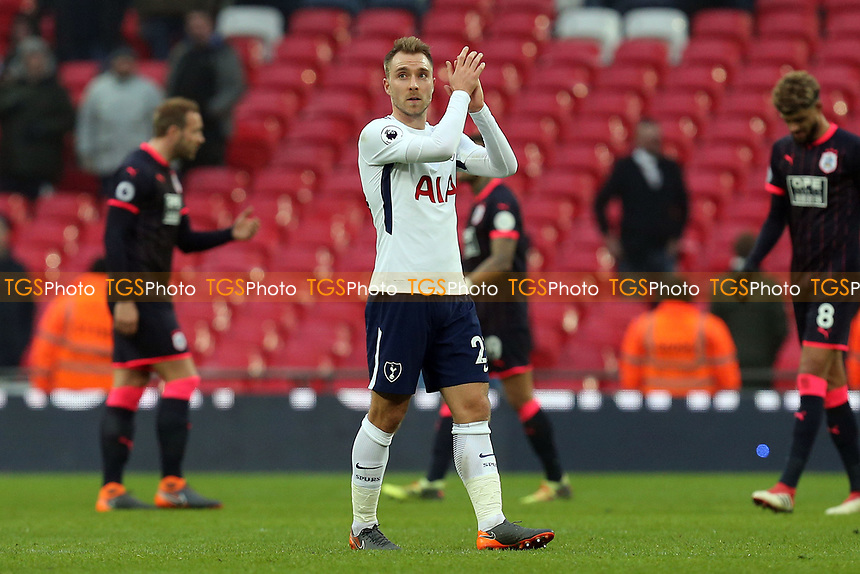 Christian Eriksen of Tottenham Hotspur after Tottenham Hotspur vs Huddersfield Town, Premier League Football at Wembley Stadium on 3rd March 2018