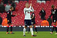 Christian Eriksen of Tottenham Hotspur after Tottenham Hotspur vs Huddersfield Town, Premier League Football at Wembley Stadium on 3rd March 2018
