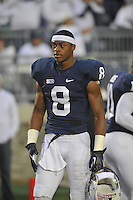 27 October 2012:  Penn State WR Allen Robinson (8). The Ohio State Buckeyes defeated the Penn State Nittany Lions 35-23 at Beaver Stadium in State College, PA.