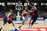 Real Madrid´s Sergio Rodriguez during Liga Endesa Final first match at Palacio de los Deportes in Madrid, Spain. June 19, 2015. (ALTERPHOTOS/Victor Blanco)