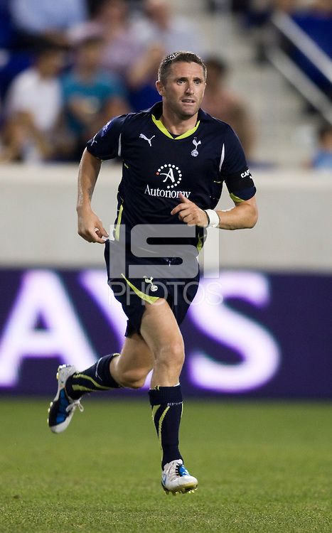 Robbie Keane. Tottenham defeated the New York Red Bulls, 2-1.