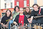 TRASH METAL: Gary O'Carroll, Zach Buggy, Luke Stafford Lacey, Eoin Murphy and Glen Dunleavy of Sever the Nerve playing at the KDYS Fall Festival in Tralee Town Square on Sunday..