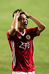 Jordan Lok Kan Lam of Pegasus reacts during the week three Premier League match between Hong Kong Pegasus and Kitchee at Hong Kong Stadium on September 17, 2017 in Hong Kong, China. Photo by Marcio Rodrigo Machado / Power Sport Images