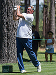 David Wells during the American Century Championship at Edgewood Tahoe Golf Course in Stateline, Nevada, Sunday, July 15, 2018.