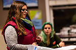 NAUGATUCK, CT. 20 December 2018-122018 - Nicole Wiley, a prevention coordinator talks about preventive measures and how to see the signs, as Naugatuck High School Senior Holly Santos looks on during a suicide training class at Naugatuck Youth Services in Naugatuck on Thursday. Bill Shettle Republican-American