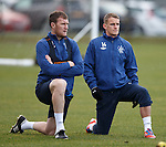 Kevin Kyle and Dean Shiels