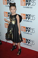 www.acepixs.com<br /> October 1, 2017  New York City<br /> <br /> Brooklyn Prince attending 55th New York Film Festival 'The Florida Project' at Alice Tully Hall on October 1, 2017 in New York City.<br /> <br /> Credit: Kristin Callahan/ACE Pictures<br /> <br /> <br /> Tel: 646 769 0430<br /> Email: info@acepixs.com