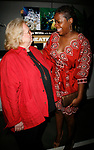 Barbara Cook & Fantasia attending the 2007 Theatre World Awards for Outstanding Broadway or Off-Broadway Debuts. Held at the World Stages Theatre in New York City. June 5, 2007