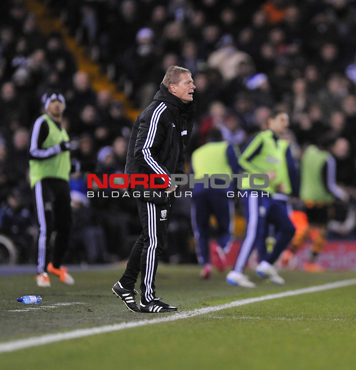West Bromwich Albion Manager, Keith Downing-  21/12/2013 - SPORT - FOOTBALL - The Hawthorns - West Bromwich - West Brom v Hull City - Barclays Premier League<br /> Foto nph / Meredith<br /> <br /> ***** OUT OF UK *****