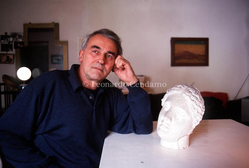 APR 2000, ROMA: VALENTINO ZEICHER, POET © Leonardo Cendamo