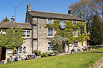 Lister Arms hotel, Malham village, Yorkshire Dales national park, England, UK