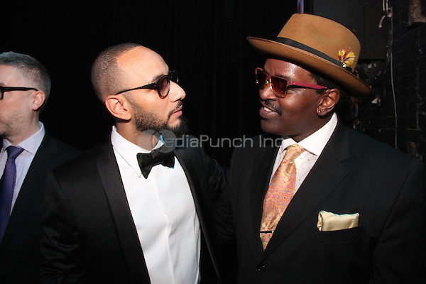 NEW YORK, NY - OCTOBER 30: Swizz Beatz & Fab Five Freddy attend the Keep A Child Alive 11th Annual Black Ball at the Hammerstein Ballroom, October 30th 2014 in New York City. Credit: Walik Goshorn/MediaPunch