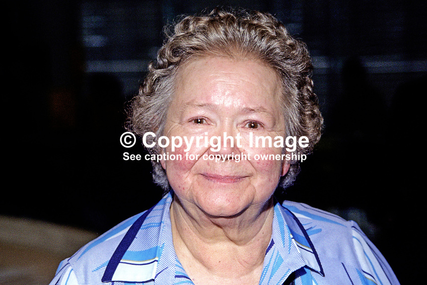Claire Brooks, solicitor, Skipton, Yorkshire, prominent &amp; outspoken member of Liberal Party and then the Liberal Democrats. Taken Liberal Democrat Conference 1999. 199909042<br /> <br /> Copyright Image from Victor Patterson, 54 Dorchester Park, Belfast, UK, BT9 6RJ<br /> <br /> t1: +44 28 9066 1296 (from Rep of Ireland 048 9066 1296)<br /> t2: +44 28 9002 2446 (from Rep of Ireland 048 9002 2446)<br /> m: +44 7802 353836<br /> <br /> e1: victorpatterson@me.com<br /> e2: victorpatterson@gmail.com<br /> <br /> The use of any of my copyright images is subject to my Terms &amp; Conditions.<br /> <br /> It is IMPORTANT that you familiarise yourself with them. They are available on my website, victorpatterson.com.<br /> <br /> None of my copyright images may be used on the Internet unless they are visibly watermarked, i.e. &copy; Victor Patterson within the body of the image. Additionally metadata denoting my copyright must NOT be deleted. <br /> <br /> Web use is extra at the then currently recommended NUJ rates.