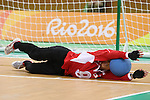 Masae Komiya (JPN),<br /> SEPTEMBER ,8 2016 - Goalball : <br /> Preliminary Round<br /> match between Japan 1-1 Israel<br /> at Future Arena<br /> during the Rio 2016 Paralympic Games in Rio de Janeiro, Brazil.<br /> (Photo by Shingo Ito/AFLO)