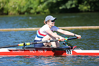 Race: 3  Event: Aspirational 1x<br /> Crew: 52  Club: Walton<br /> <br /> Henley Women's Regatta 2018<br /> Friday<br /> <br /> To purchase this photo, or to see pricing information for Prints and Downloads, click the blue 'Add to Cart' button at the top-right of the page.