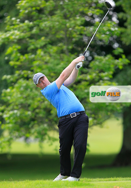 Ryan Madigan (Waterford Castle GC) on the 2nd tee during Round 2 of the Titleist &amp; Footjoy PGA Professional Championship at Luttrellstown Castle Golf &amp; Country Club on Wednesday 14th June 2017.<br /> Photo: Golffile / Thos Caffrey.<br /> <br /> All photo usage must carry mandatory copyright credit     (&copy; Golffile | Thos Caffrey)