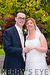 Siobhan McMahon, Ballyvelly, Tralee, daughter of Michael and Joan McMahon, and Don O'Regan, Mallow, son of Michael and Ann O'Regan, were married at St. Brendans Church curraheen by Fr John McMahon on 25th July 2015