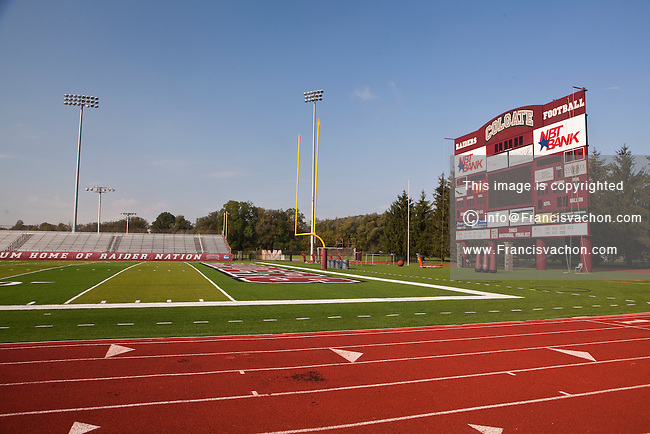 The Andy Kerr Stadium of the Colgate University is pictured in Hamilton, NY, Thursday September 12, 2013. Colgate University is a private liberal arts college with 53 undergraduate concentrations that culminate in a Bachelor of Arts degree.