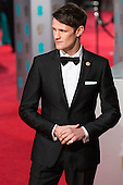 London, UK. 14 February 2016. Doctor Who actor Matt Smith. Red carpet arrivals for the 69th EE British Academy Film Awards, BAFTAs, at the Royal Opera House. © Vibrant Pictures/Alamy Live News