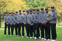 The USA Team Picture for the Ryder Cup 2012, Medinah Country Club,Medinah, Illinois,USA.Picture: Fran Caffrey/www.Golffile.ie.