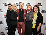 """Juliana Margulies, Judith Light, Alan Cumming, Samantha Mathis and Margo Martindale attend MCC Theater's Inaugural All-Star  """"Let's Play! Celebrity Game Night"""" at the Garage on November 03, 2019 in New York City."""