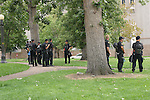 POLICE PRESENCE on the GROUNDS at DENVER to AVERT ANY DISRUPTION DURING the 2008 DEMOCRATIC CONVENTION in DENVER COLORADO (6)