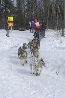 Sam Deltour Anchorage Start Iditarod 2008.