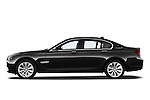 Driver side profile view of a 2011 BMW 7 Series Active Hybrid.