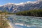 North Saskatchewan River, Alberta, Canada
