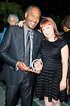 LOS ANGELES - JUN 7: Joe Morton, Aileen Quinn at the Actors Fund's 19th Annual Tony Awards Viewing Party at the Skirball Cultural Center on June 7, 2015 in Los Angeles, CA