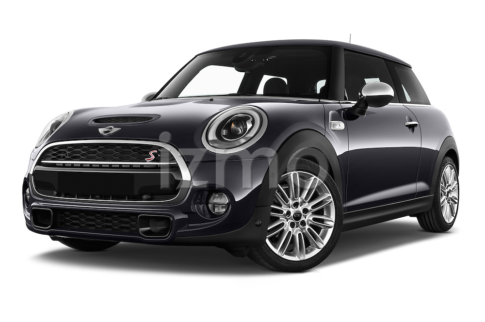 Stock pictures of low aggressive front three quarter view of2015 MINI MINI COOPER S 3 Door Hatchback 2WD Low Aggressive