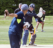 Cricket Scotland - Scotland train at Kent County cricket ground at Benkenham, ahead of two matches against Sri Lanka, on Sunday (tomorrow) and Tuesday - pic shows George Munsey in batting practice - picture by Donald MacLeod - 20.05.2017 - 07702 319 738 - clanmacleod@btinternet.com - www.donald-macleod.com