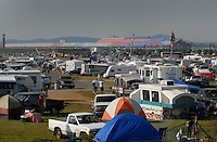 Apr 28, 2007; Talladega, AL, USA; Nascar Nextel Cup Series fans camp out near the track prior to qualifying for the Aarons 499 at Talladega Superspeedway. Mandatory Credit: Mark J. Rebilas