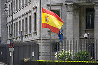 2017/08/18 Berlin | Spanische Botschaft | Trauer nach Barcelona-Anschlag