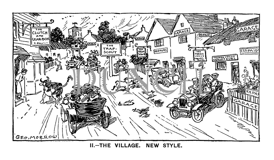 II. - The Village. New Style.